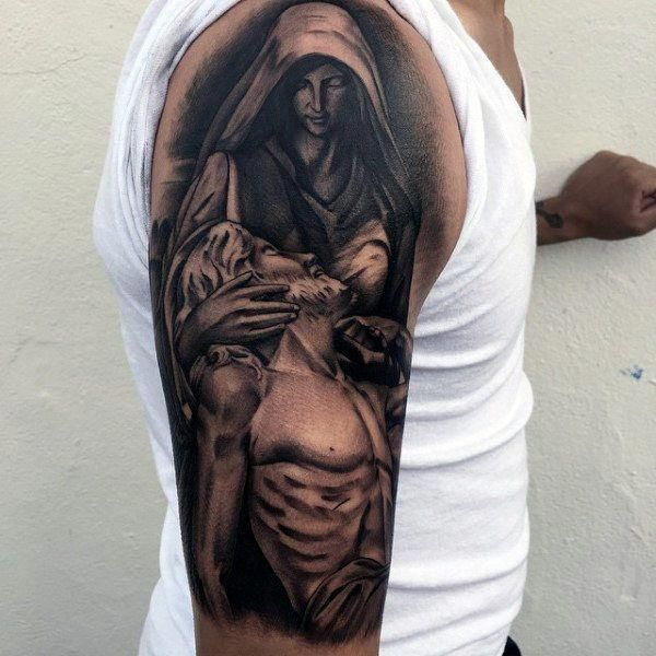 Meaningful Christian Tattoos On Gentleman #Tattoosformen –  – #smalltattoos –  – #smalltattoos
