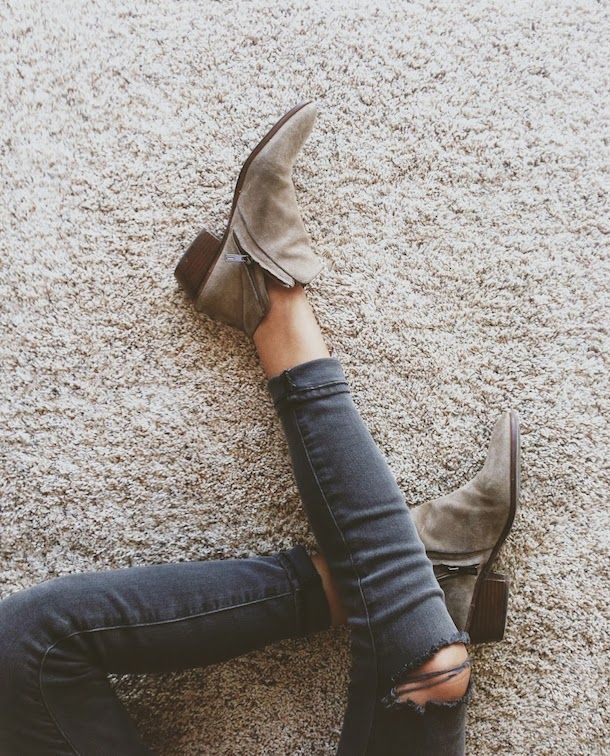 Ankle Boots Madewell--I wasn't sure I really like ankle boots at first, I think I'm sold.