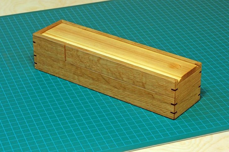 Old School Pencil Boxes | An Old School Pencil Box .....with an M secret. - by vipond33 ...
