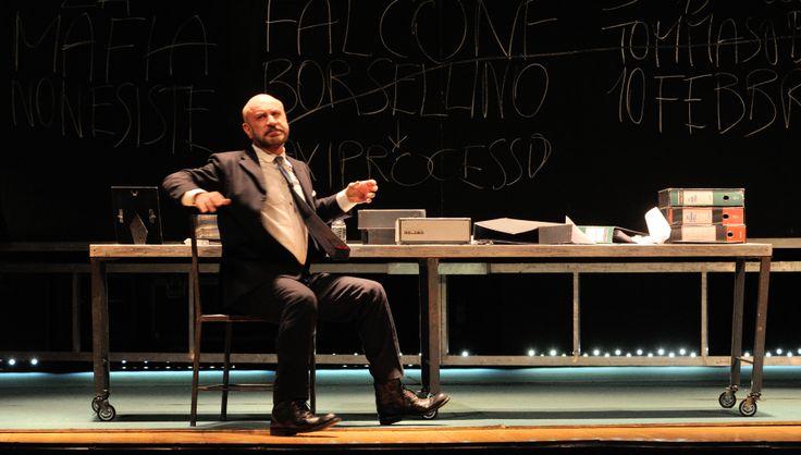 5 marzo 2014 - Per Non Morire di Mafia Teatro Titano - San Marino foto di Gabriele Granaroli