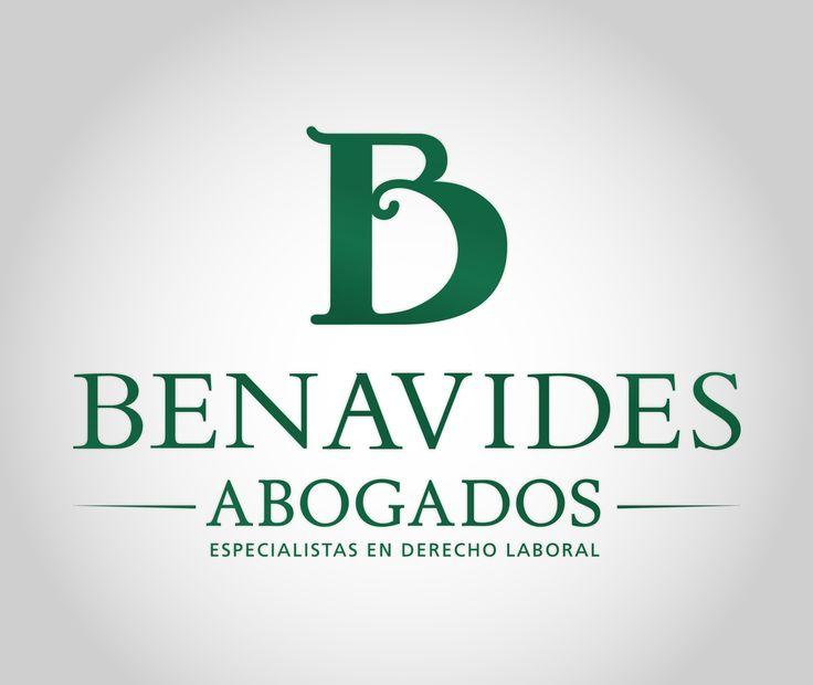 Un logotipo para abogados elegante gracias a su cuidado diseño y perfecta elección de la tipografía