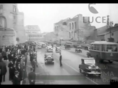 You know you want to watch this 👉 Via dei Fori Imperiali (1933) https://youtube.com/watch?v=V7KXJIK2FdI