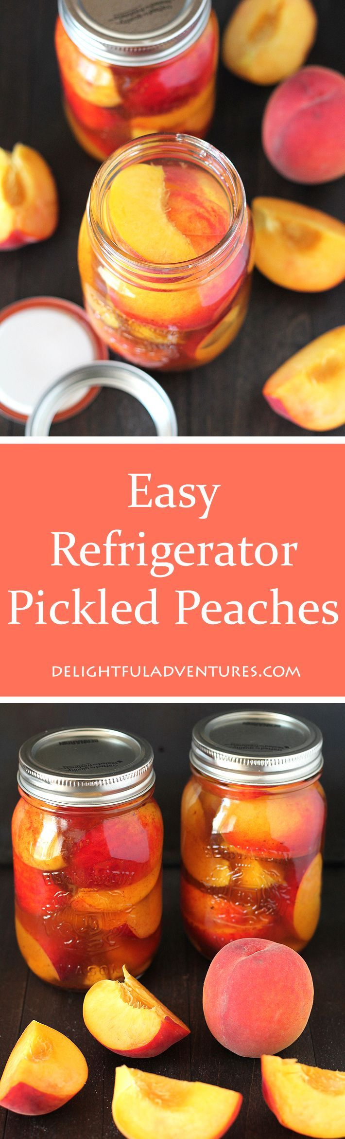 Prolong summer peach season by making this recipe for Easy Refrigerator Pickled…