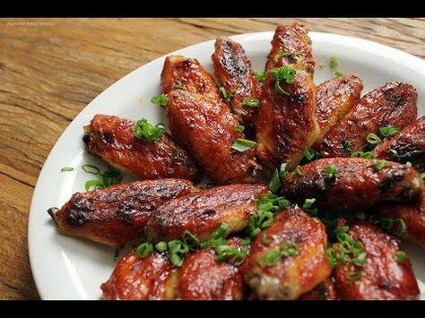 RECEITA DE ASINHA DE FRANGO (Chicken Wings / Buffalo Wings) - CHURRASCO - YouTube