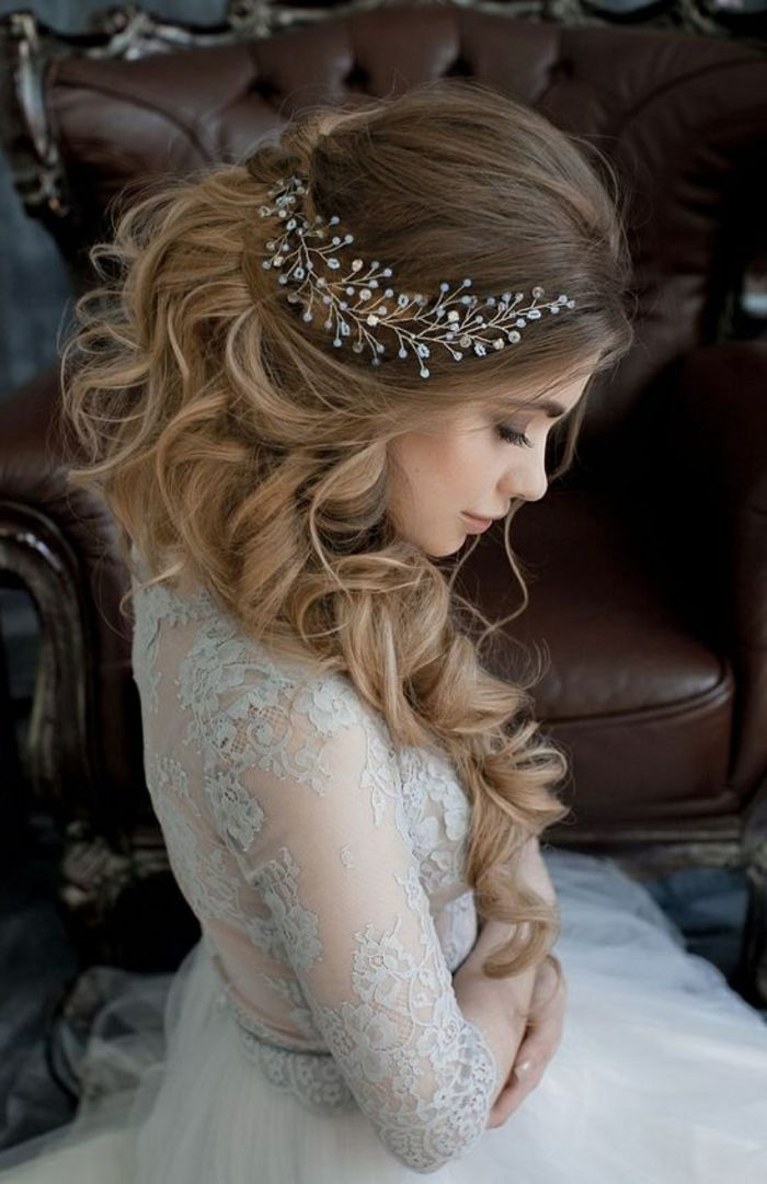 778 best wedding hairstyles images on pinterest wedding hair styles bridal hairstyles and. Black Bedroom Furniture Sets. Home Design Ideas