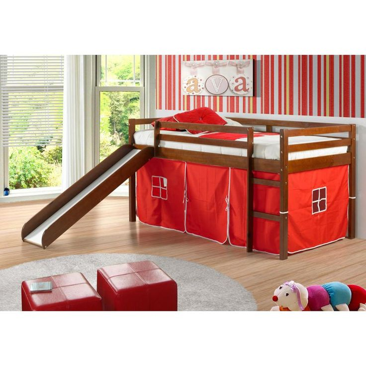 Best 25 Toddler bed with slide ideas on Pinterest Indoor play