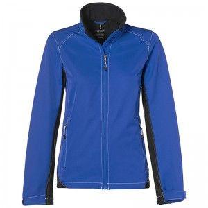 Iberico Soft Shell Jacket Ladies Blue
