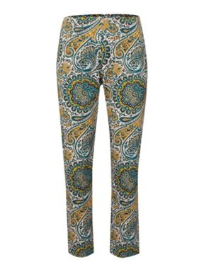 Biba Paisley printed trousers Multi-Coloured - House of Fraser -- not sure about this print as pants for me and my guava shaped figure