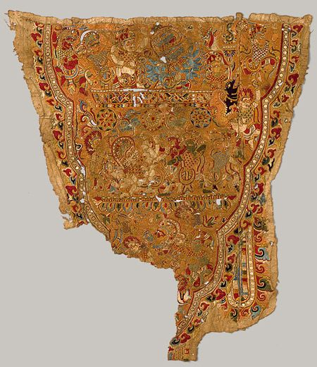 15th century, Nepalese embroidery