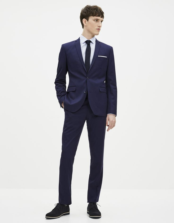 70 + 40 = €110 Costume slim bleu - Celio France