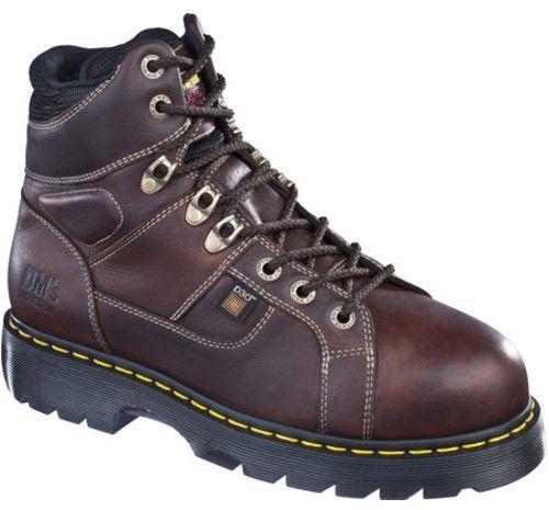Dr. Martens Men's Ironbridge ST IM Tie Lace to Toe Work Boots (8 UK