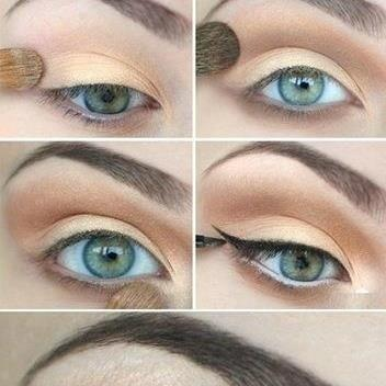 Bridal Eye Makeup Step By Step : Pin by Karrie Brand on Beauty Pinterest