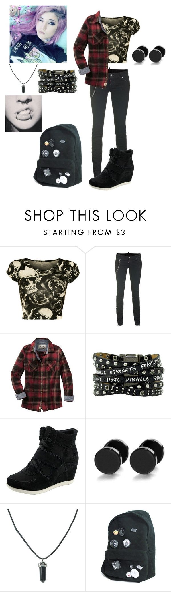 """Tori Black ((Rp anyone?))"" by coffeeismysoul ❤ liked on Polyvore featuring WearAll and Dsquared2"