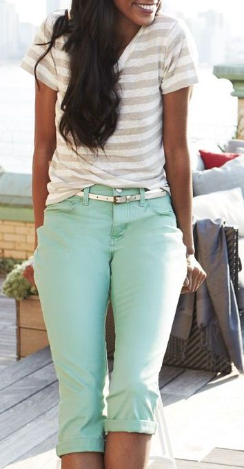 After this snow storm, I am wishing for warm weather and cute outfits like this ♡