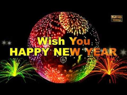 Happy New Year 2018, Wishes,Whatsapp Video,New Year Greetings,Animation,Message,Ecard,Download - YouTube