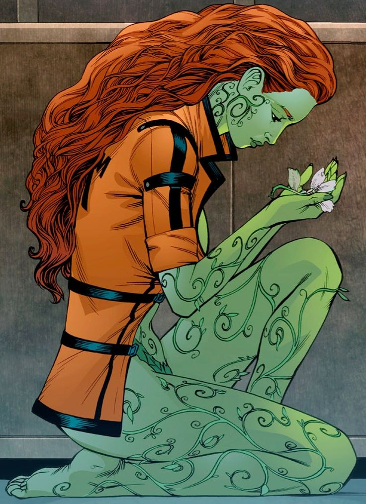 I'm normally not a Poison Ivy fan but I adore this photo.   Poison Ivy (Batman: Arkham Asylum)/Gallery - Batman Wiki