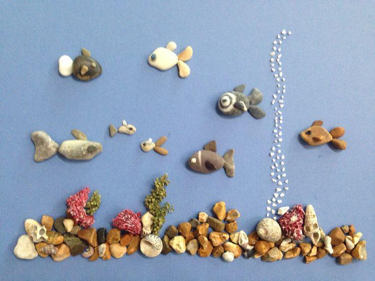 Pebble art aquarium by gülen