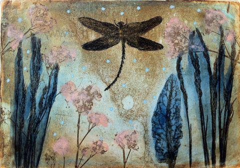 Original etching by Maarit Kontiainen