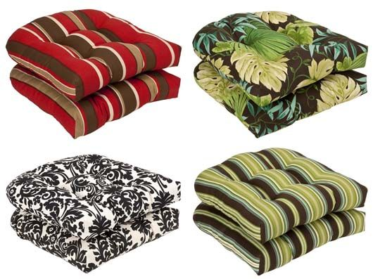 outdoor wicker furniture cushions pillow perfect outdoor wicker seat cushions 7 patio chair cushions
