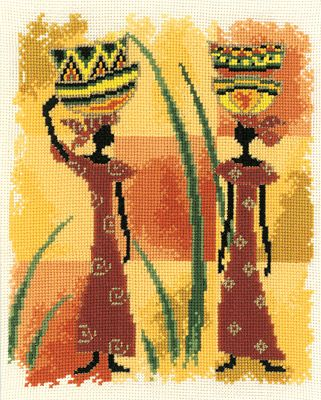 cross stitch african - Google Search