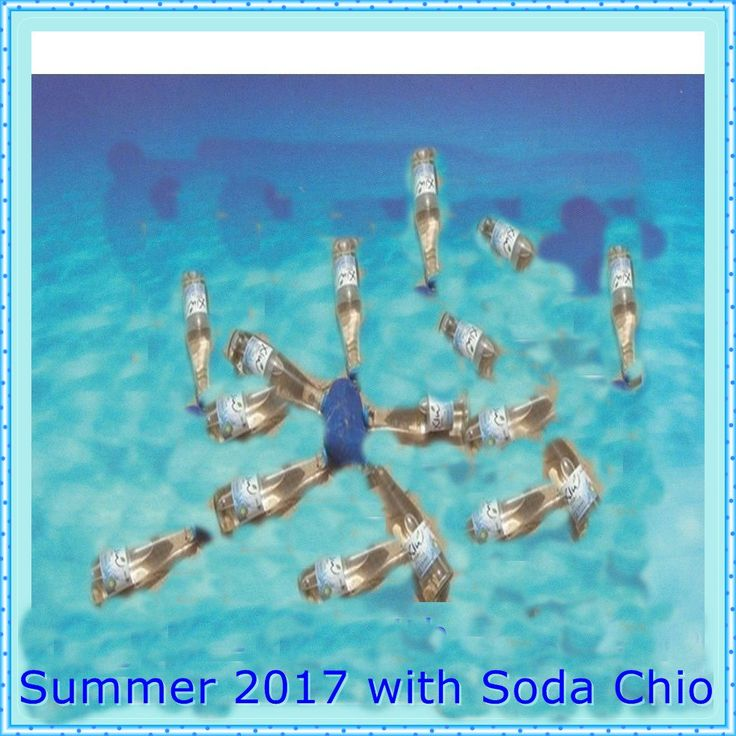 """Ο χρήστης Soda Chio στο Twitter: """"Καλό Μήνα Καλό Καλοκαίρι! Μην ξεχνάτε να έχετε πάντα μαζί σας μια παγωμένη Σόδα Χιώ. #kalokairi2017 #sodachio #summer #drosia #nisi #sea https://t.co/ebdu4Fsya3"""""""