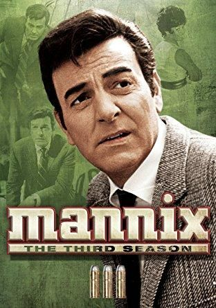 Mike Connors & Gail Fisher - Mannix: Season 3