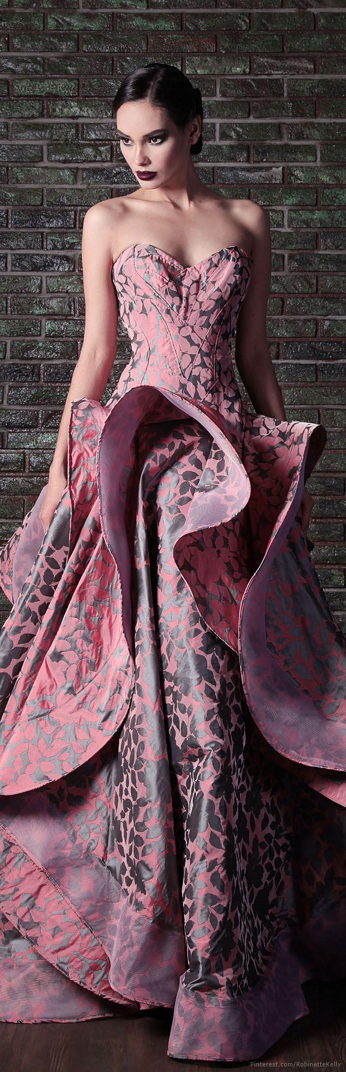 Rami Kadi   Couture, F/W 2015 #Dresses #Fashion #Style