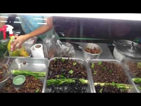 Самые необычные блюда из насекомых | Ух ты!