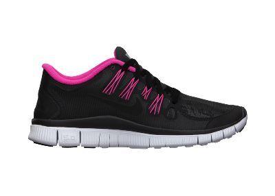 Nike Libre 5,0 Bouclier Noir / Fond Rose