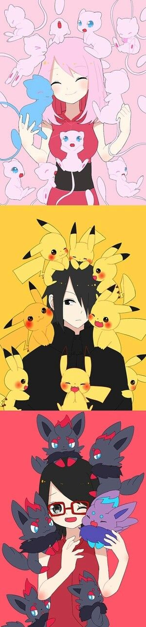 Aww! I can't believe Pokemon and Naruto Joined together~! A dream come true...