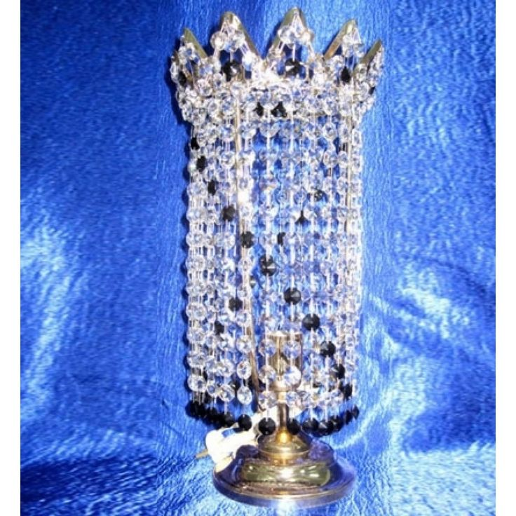 Купить настольную лампу хрустальную Элит Оптикон цветная в интернет-магазине Люкс Свет +7 (4922) 60-02-05, низкая цена от производителя из Гусь-Хрустального, фото, отзывы