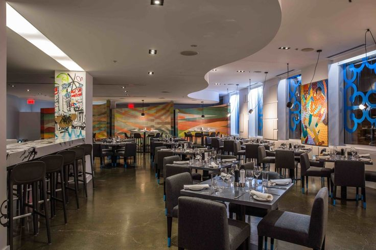 A new dining decor concept at ê.a.t. at the W Hotel. COURTESY W HOTEL