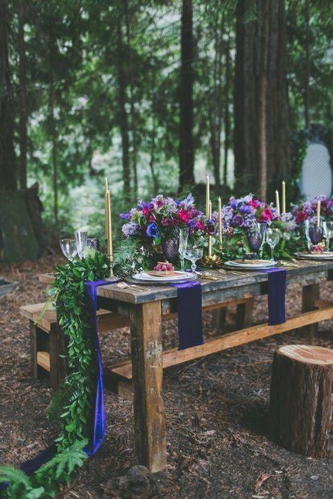 70 Bold Jewel Tone Wedding Ideas | HappyWedd.com #PinoftheDay #Bold #Jewel…