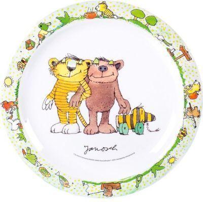 p:os 66072 Kinder-Teller, flach ´´Janosch´´, Ø 22cm, Melamin (1 Stück) Jetzt bestellen unter: https://moebel.ladendirekt.de/kueche-und-esszimmer/besteck-und-geschirr/geschirr/?uid=842421d6-8c2c-54dd-a02c-d20ff7a8b632&utm_source=pinterest&utm_medium=pin&utm_campaign=boards #geschirr #heim #kueche #esszimmer #besteck