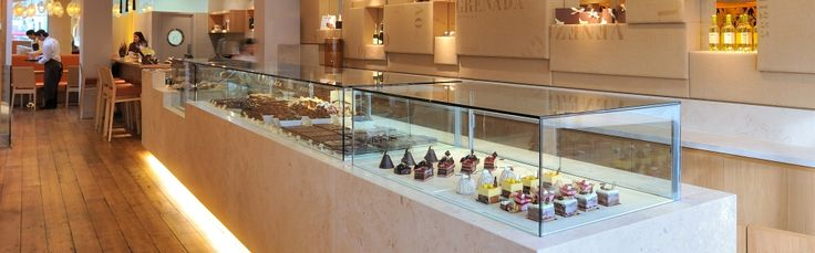 William Curley's boutique in Belgravia sells chocolate, cakes, patisserie and on Saturdays you can visit their dessert bar where you can indulge in a 3 course meal of JUST DESSERTS!!