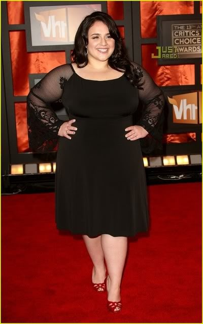 This woman is perfection. She shows its okay to be bigger (: Love Nikki Blonsky <3