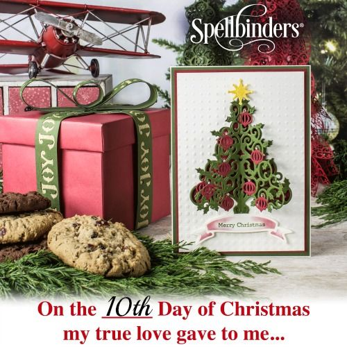 202 best DIY Holiday with Spellbinders images on Pinterest | Paper ...