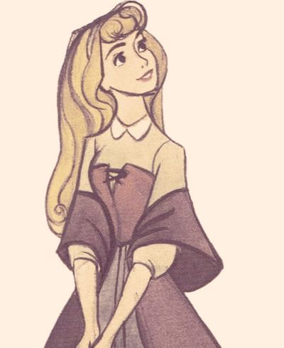Briar Rose.  Beautiful art! :)