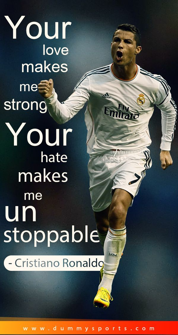 Top 50 Football Quotes By Players Image Quotes Ronaldo Quotes Cristiano Ronaldo Quotes Football Quotes