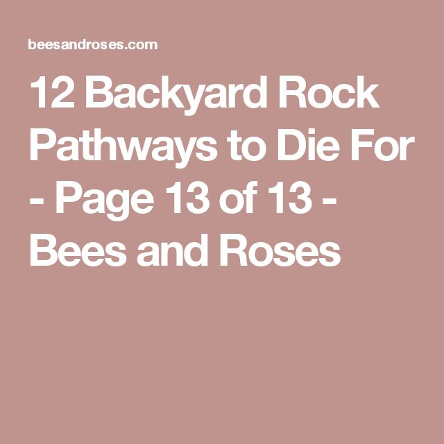 Doesn T Appear To Be A Potager But A Great Rooftop Design: 1000+ Ideas About Rock Pathway On Pinterest