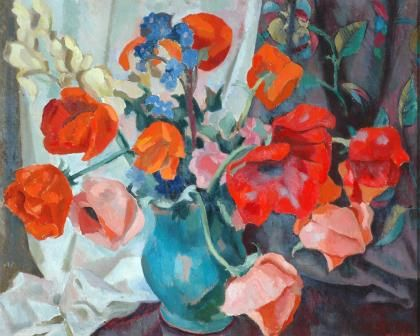 Roger Fry - Poppies.