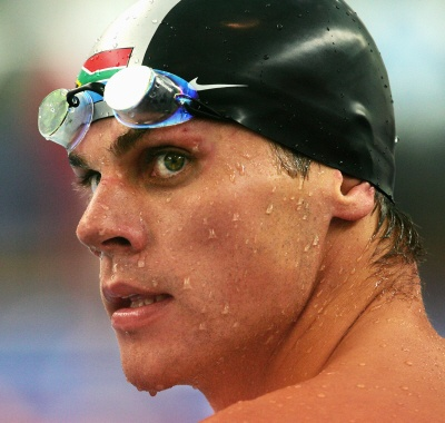 Ryk Neethling - south africa. one of the greatest swimmers of all time.