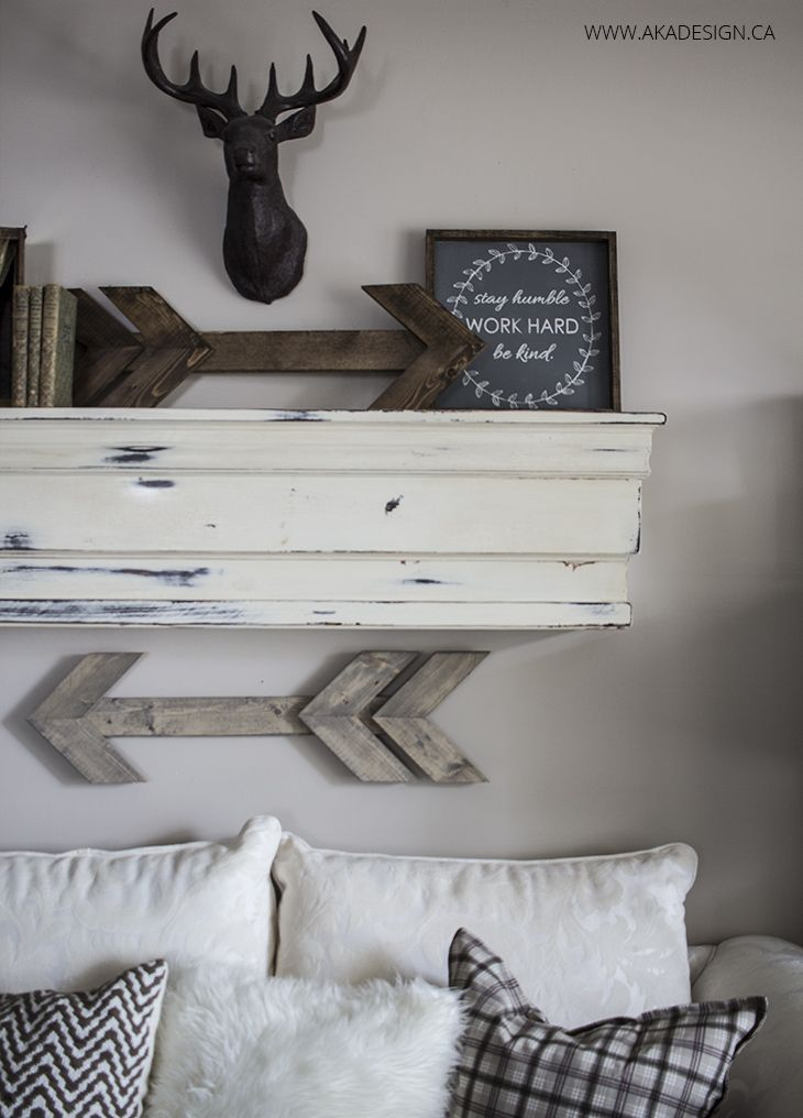 awsome!!  purdy brush recommendation . great details on brown base paint ... how to build this Pottery barn type shelf ...Build Our Mantel