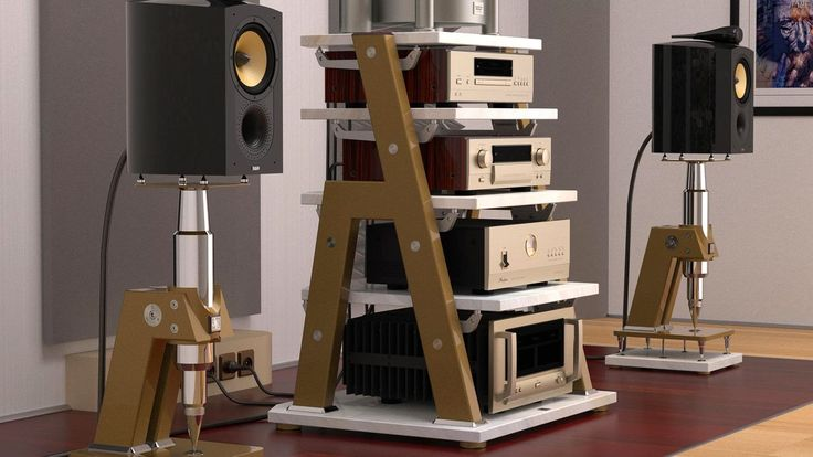 Jtl Amazing Speaker Stands Hifi Setups Pinterest