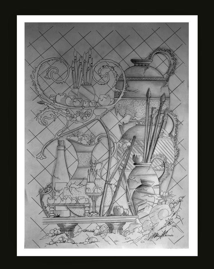Galeria Gustave Doré. Desenhos de Marco Machado.