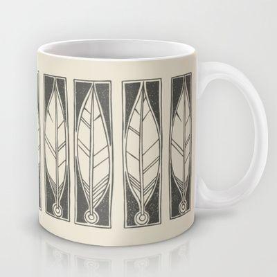 Ethnic Feathers Mug by Nameless Shame - $15.00