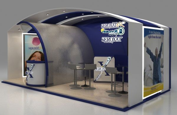 Innovative Exhibition Stand Design : Gsk booth design innovative d exhibition designs