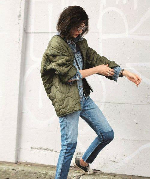 キルティングライナージャケット(ミリタリージャケット)|TODAYFUL(トゥデイフル)のファッション通販 - ZOZOTOWN