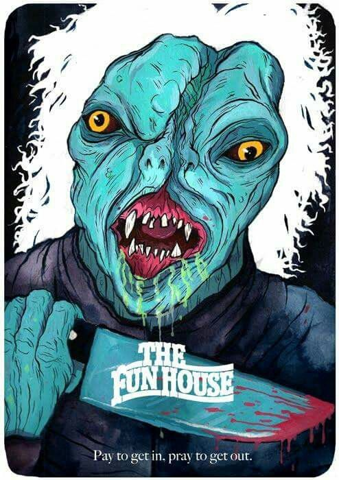 The Funhouse Horror Movie Poster