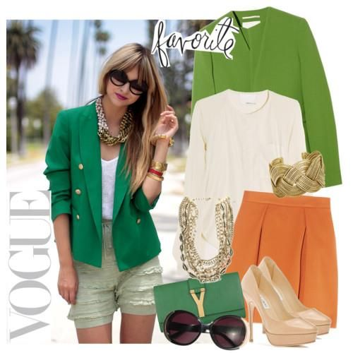 Фасоны пиджаков зелёных женских неклассических
